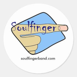 Soulfinger Sticker