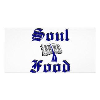 Soulfood Dark Blue Design Card