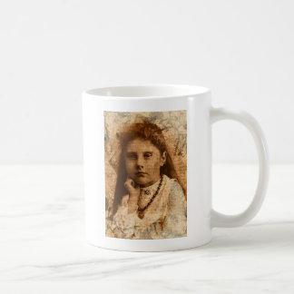 Soulful Eyes Digital Art Coffee Mug