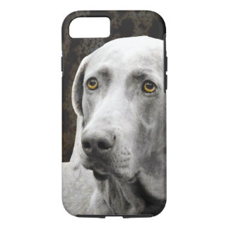 Soulful Eyes of the Weimaraner iPhone 7 Case