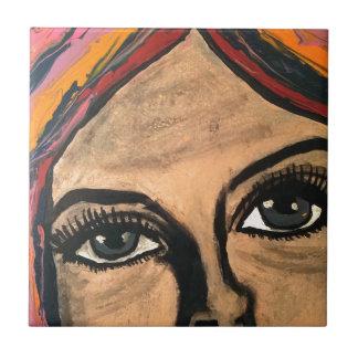 Soulful Eyes Tile