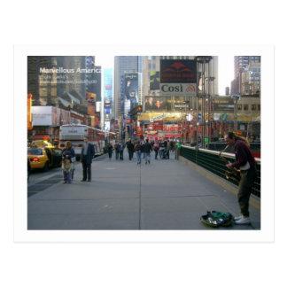 Soulful New York Postcard