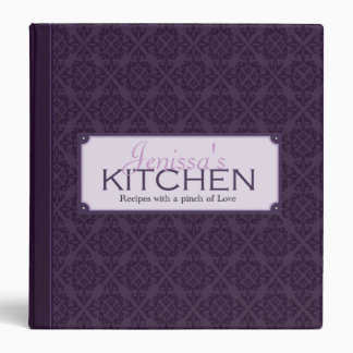 Soulful Plum Recipe Binder