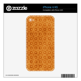 Soulful Shy Paradise Principled Decal For iPhone 4