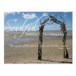Soulful Wedding Ceremonies Postcard