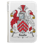 Soulis Family Crest Kindle 3 Cover