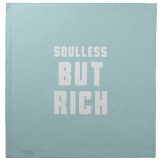 Soulless, but Rich Cloth Napkin
