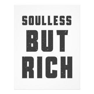 Soulless, but Rich Letterhead