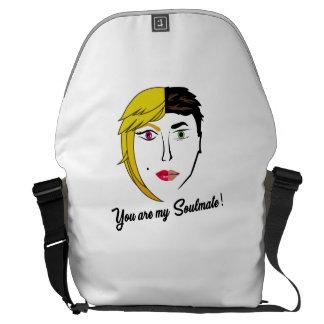 Soulmate Messenger bag