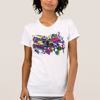 """""""Soulmates oxo abstract art""""* T-shirt"""