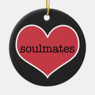 Soulmates | Personalized Valentine's Day Ornament