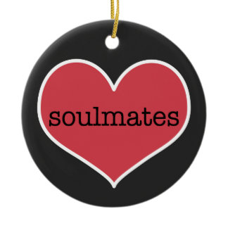Soulmates | Personalized Valentine's Day Ornament