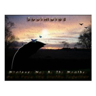 """Soulmates Stormy Weather""* Postcards"