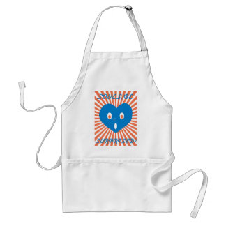 souls, be surprised blue heart ver. adult apron