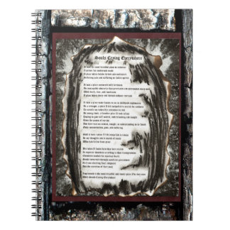 Souls Crying Everywhere Notebook