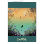 """""""Souls In Harmony""""* Greeting Card"""