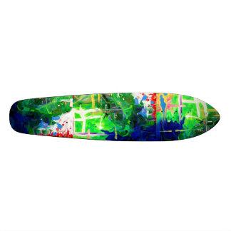 Soul's Journey abstract fine art Skateboard Deck