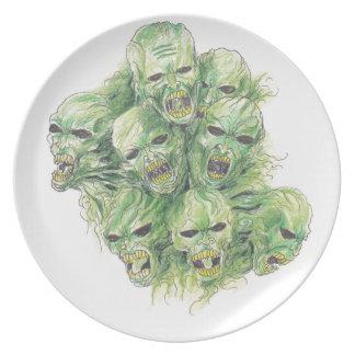 Souls Of The Dead Art Dinner Plates
