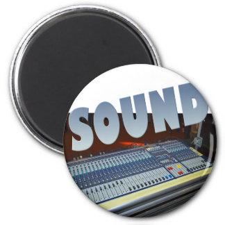 sound 2 inch round magnet