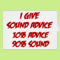 Sound Advice Card