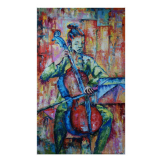 Sound and Music II - Canvas Print
