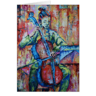 Sound and Music II - Notecard Stationery Note Card