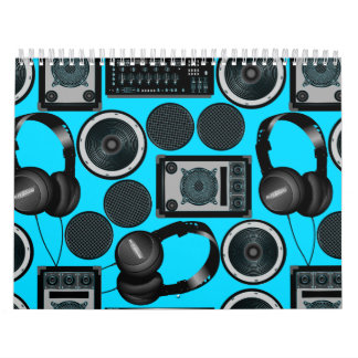 Sound and subwoofer speakers calendar