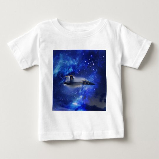 Sound barrier plane baby T-Shirt