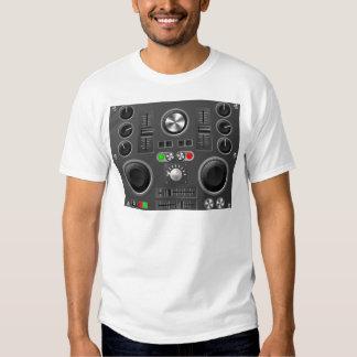 Sound board or studio controls t-shirt