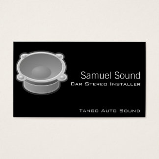 Sound Business Card