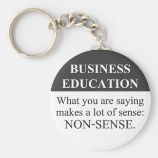 Sound Business Education (3) Keychain