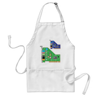 Sound Card vector Adult Apron