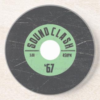 Sound Clash Reggae/Ska Sandstone Coaster