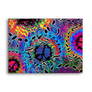 Sound Colors Psychedelic Envelope