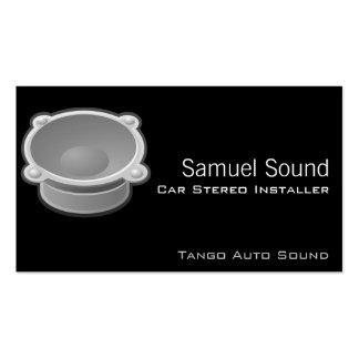 Sound Double-Sided Standard Business Cards (Pack Of 100)