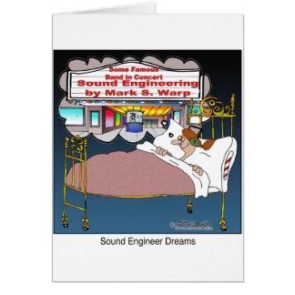 Sound Engineer Dreams Card