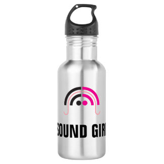 Sound Girl (2a) Water Bottle