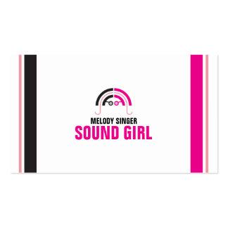 Sound Girl (2b) Business Card