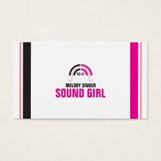 Sound Girl (2b) Business Card