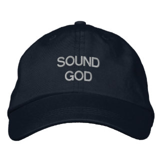 Sound God Embroidered Baseball Hat