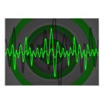 Sound Green Dark invitation