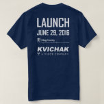 Sound Guardian T-Shirt Mens Navy Blue