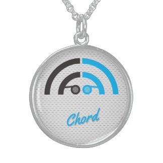 Sound Guy (1c) Sterling Silver Necklace