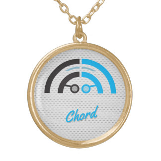 Sound Guy (2b) Gold Plated Necklace