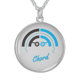Sound Guy (4b) Sterling Silver Necklace