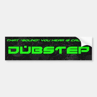 """Sound"" is Dubstep Car Bumper Sticker"
