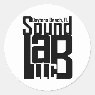 Sound Lab LLC Classic Round Sticker