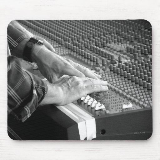 Sound Man Mouse Pad