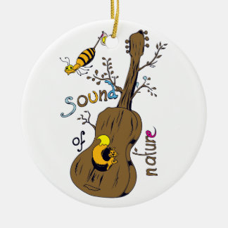sound of nature christmas tree ornament