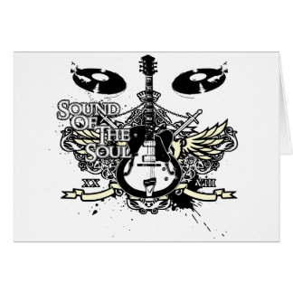 Sound of the Soul Guitar Card
